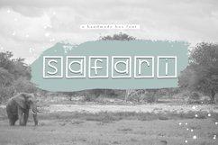 Safari - A Handwritten Box Font Product Image 1
