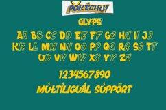 Pokechu   Comic Font Product Image 3
