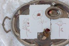 Fine Art Florals - Pencil Sketches Product Image 9