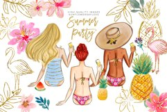 summer fashion clip art, gals graphics clipart, Product Image 2