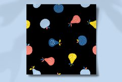 Fabric Seamless Pattern. Digiral Paper. Scrapbook Paper. Product Image 2