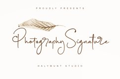 Photography Signature Product Image 1