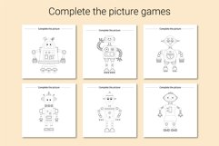 Robots Activities for kids. Product Image 4