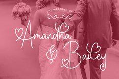 Valentine Memories Romantic Font Product Image 6
