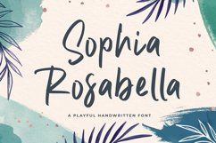 Elegant Handwriting Font - Sophia Rosabella Product Image 1