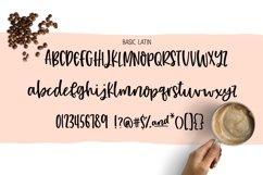 Hazelnut Macchiato Handlettered Script Font Product Image 2