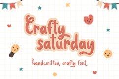 Crafty Saturday - Handwritten Font Product Image 1