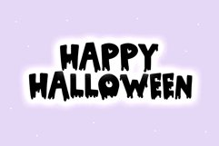 Yikes - A Dripping Halloween Font Product Image 5