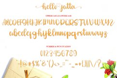Hello Jatta - Web Font Product Image 6