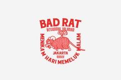Bad Rat Logo Template Product Image 4