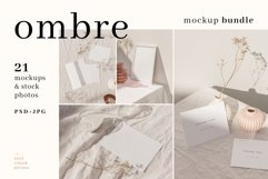 Ombre - Frame and Stationery Mockups Product Image 1