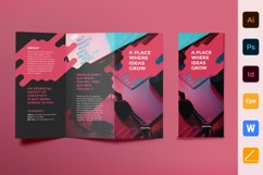 Digital Advertising Agency Brochure Trifold Product Image 1