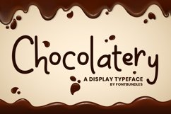 Web Font Chocolatery Product Image 1