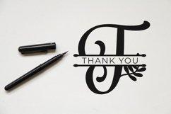 Albanian Olive Monogram   Font Trio Product Image 2