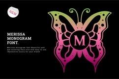 Merissa Monogram Font Product Image 1