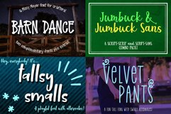 Billy Bot Bundle 5 - Tall Friends Font Bundle! Product Image 2