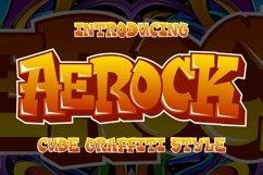 Aerock - Layered Graffiti Font Product Image 1