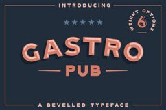 Gastro Pub - Type Family - Font Family Product Image 1