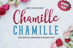 Chamille | sweet script Product Image 1