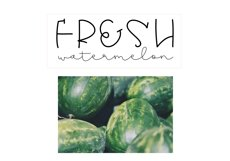 Melon - A Quirky Handwritten Font Product Image 6