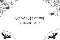 Black Bones Halloween Font Product Image 6