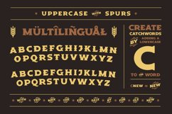 Old Spirits Display Font Product Image 3