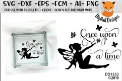 Once Upon A Time Fairy SVG Product Image 1