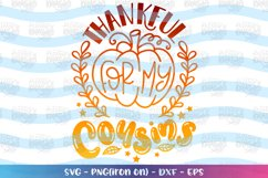 Fall Bundle SVG Thankful Cousins Big Brother Big Sister Product Image 5