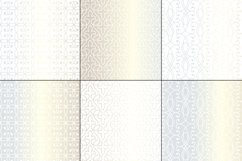 Seamless Silver Wrought Iron Patterns Product Image 3
