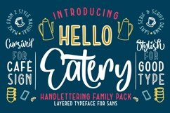 Hello Eatery - Handlettering Pack Product Image 1