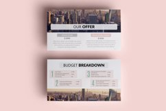 PPT Template | Project Proposal - Pink and Marble Round Product Image 7