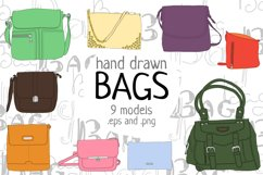 Hand drawn bags Product Image 2