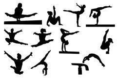 Gymnast Silhouettes Vol1 Product Image 3
