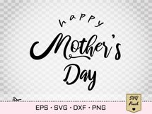 Happy Mother's Day SVG lettering Product Image 2