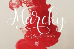 Marchy Script Product Image 2