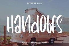 Web Font Handoffs - Cool Handwritten Font Product Image 1
