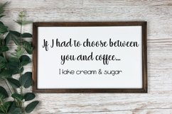 I Take Cream & Sugar Cut File - SVG &PNG Product Image 1