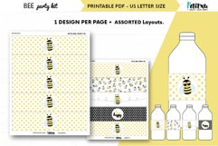 Bee themed party kit, kids party decor, bee first birthday Product Image 2
