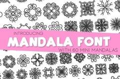 Mandala Font - A Font Full of Mini Mandalas Product Image 1