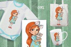 cartoon girls prints Product Image 4