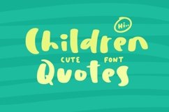 Children Quotes Product Image 1