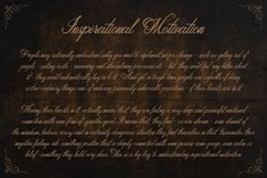 Classic Script - Metalurdo Calligraphy Font Product Image 5