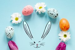 Hand drawn Easter design elements png set Product Image 4