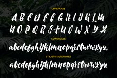 Moonway - A Hand Brush Typeface Product Image 6