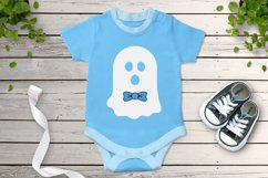Halloween SVG, Ghost SVG, Cute Ghost SVG Cut Files, Spooky. Product Image 3