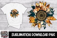 Sublimation designs for tshirts-sunflower-PNG Product Image 1