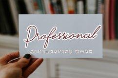Handmade - Stylish Hand lettering font Product Image 4