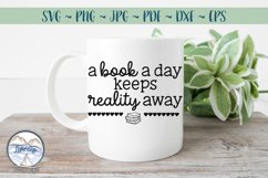 A Book a Day- Book Lover SVG Product Image 2