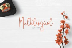 JustBecause font family Product Image 6