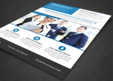 Our Agency Flyer Product Image 3